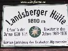 Galerie Landsberger Huette anzeigen.
